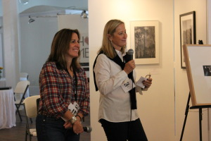 Aline Smithson with Alexa Dilworth, Jurors' talk SlowExposures 2014