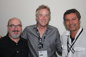 Jerry Atnip with Jerry Siegel and Ernesto BazanSlowExposures 2012©Ellen Tew