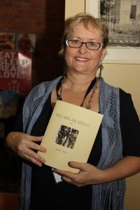 Meryl Truett and her new book at SlowExposures 2014