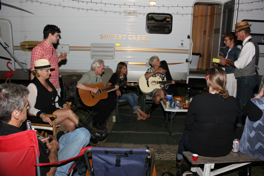Posse with RV at the SoireeSowExposures 2013photo by Ellen Tew