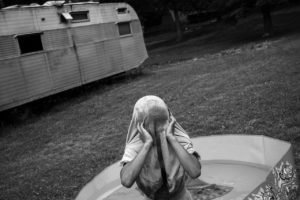 Michael in the Pool, from the series GOOD BAD PEOPLE   © Jared Ragland